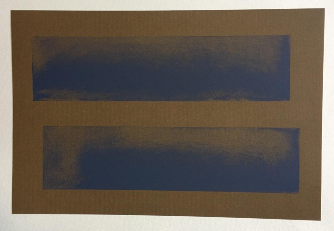 achim hoops ohne titel farblithographie 1993 handsigniert und datiert ebay. Black Bedroom Furniture Sets. Home Design Ideas