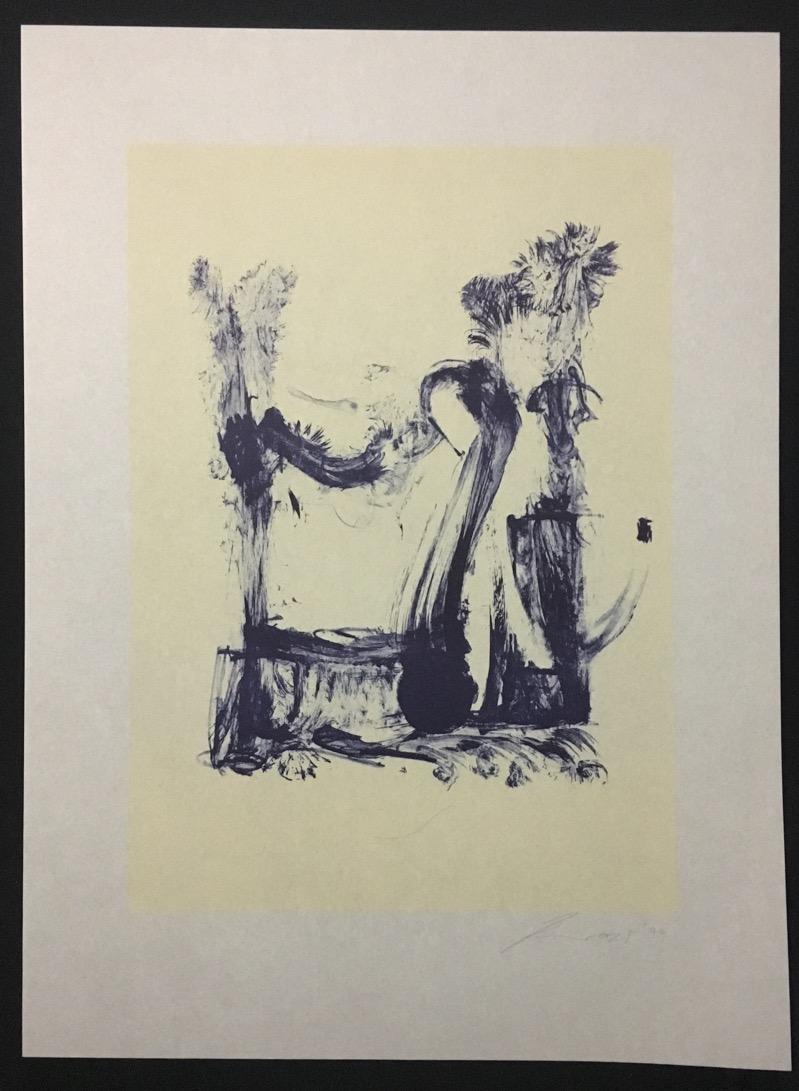 klaus kumrow was macht silber v lithographie 1999. Black Bedroom Furniture Sets. Home Design Ideas